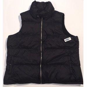 XXL Black OLD NAVY puffer vest!